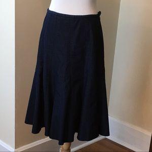 Size 8 New Directions Denim Skirt